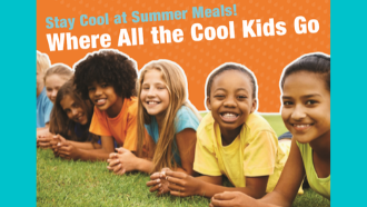 Stay cool at summer meals! Where all the cool kids go
