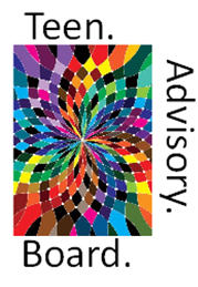 multi colored prism effect painting_Teen Advisory Board